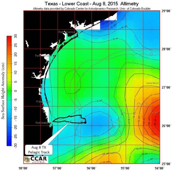 20150808 TX Lower Coast Altimetry